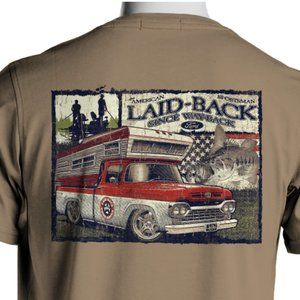 Comfort Colors Shirts - Comfort Colors 60 Ford Truck Bass Fishing T-Shirt